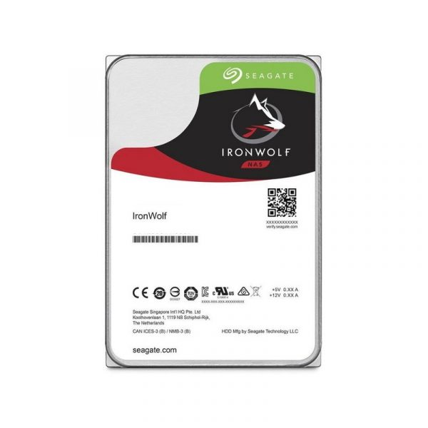 Накопичувач HDD SATA 4.0TB Seagate IronWolf NAS 5900rpm 64MB (ST4000VN008) - купить в интернет-магазине Анклав