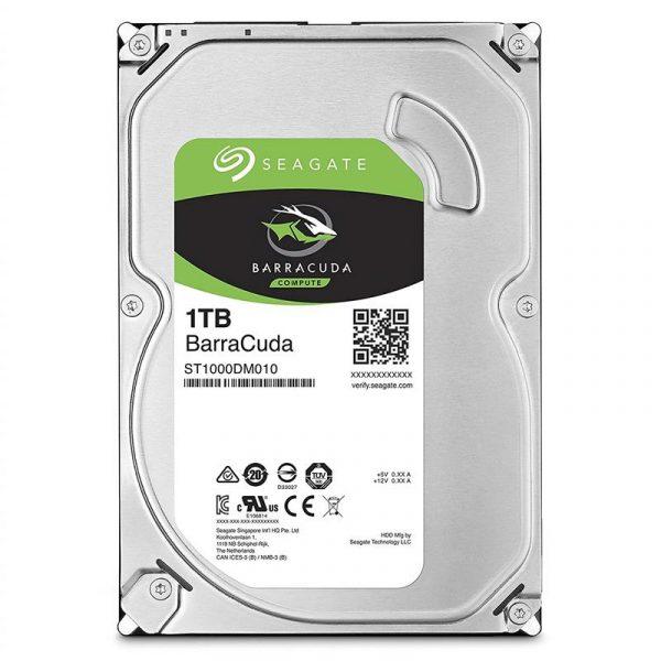 Накопичувач HDD SATA 1.0TB Seagate BarraCuda 7200rpm 64MB (ST1000DM010) - купить в интернет-магазине Анклав