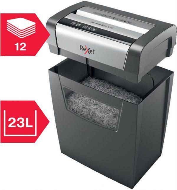Знищувач документів Rexel Momentum X312 (2104572EU) - купить в интернет-магазине Анклав