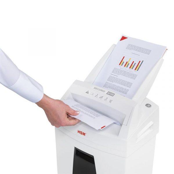 Знищувач документів HSM Securio AF100 (4x25) (6060100) - купить в интернет-магазине Анклав