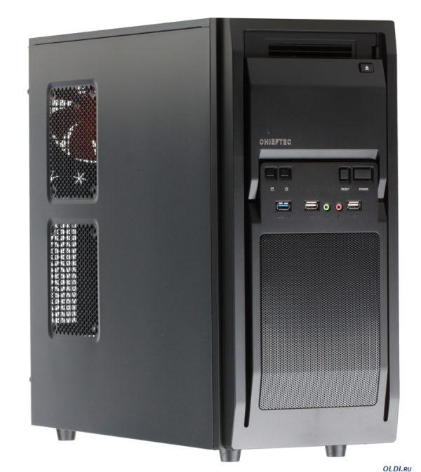 Корпус Chieftec Libra LF-02B-OP, без БЖ, 1xUSB3.0, 2xUSB2.0 Black - купить в интернет-магазине Анклав