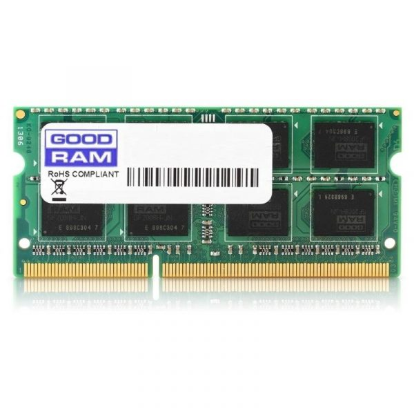 Модуль памяти SO-DIMM 4GB/1600 DDR3 GOODRAM (GR1600S364L11S/4G) - купить в интернет-магазине Анклав