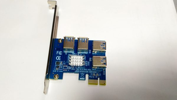 Контроллер PCI-e to 4xUSB 3.0 (C0208C07) - купить в интернет-магазине Анклав
