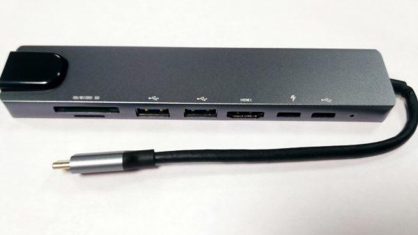 USB-TypeC-хаб H52-silver (S-18-04) multiport - купить в интернет-магазине Анклав