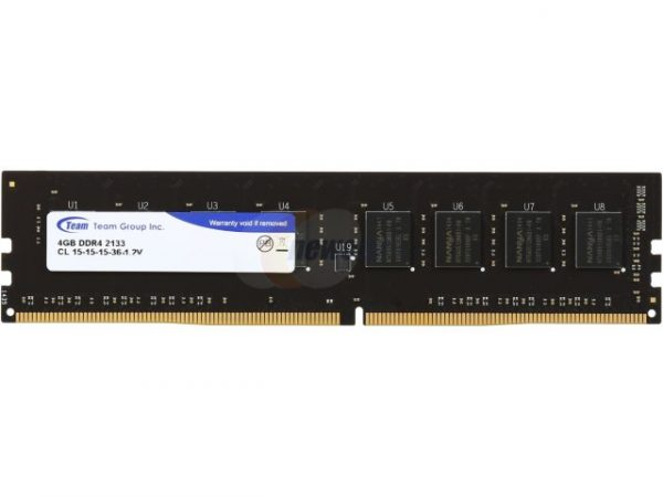 Модуль памяти DDR4 4GB/2133 Team Elite (TED44G2133C1501) - купить в интернет-магазине Анклав