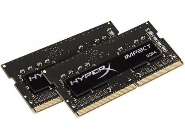 Модуль памяти SO-DIMM 2x8GB/2666 DDR4 Kingston HyperX Impact (HX426S15IB2K2/16) - купить в интернет-магазине Анклав