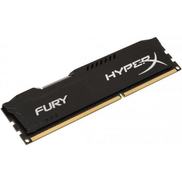 DDR3 8GB/1600 Kingston HyperX Fury Black (HX316C10FB/8) - купить в интернет-магазине Анклав