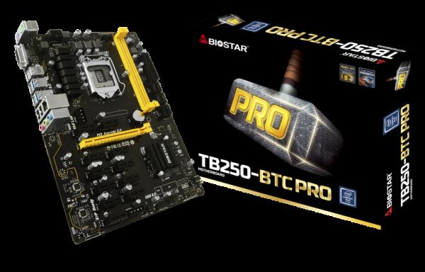 Biostar TB250-BTC PRO Socket-1151 - купить в интернет-магазине Анклав