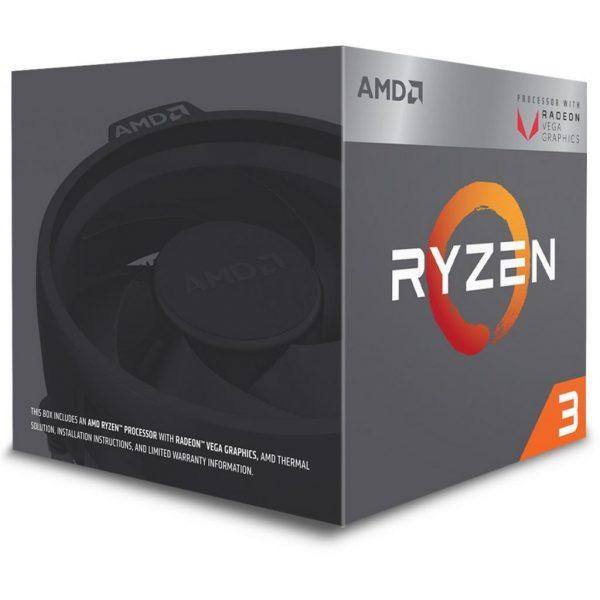 AMD Ryzen 3 2200G (3.5GHz 4MB 65W AM4) Box (YD2200C5FBBOX) - купить в интернет-магазине Анклав