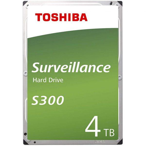 HDD SATA 4.0TB Toshiba S300 5400rpm 128MB (HDWT140UZSVA) - купить в интернет-магазине Анклав