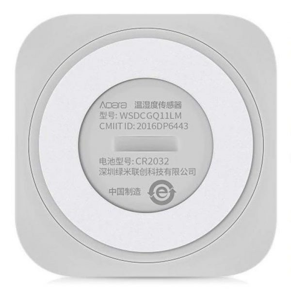 Датчик температури, вологості і атмосферного тиску Aqara Temperature and Humidity Sensor (WSDCGQ11LM) - купить в интернет-магазине Анклав