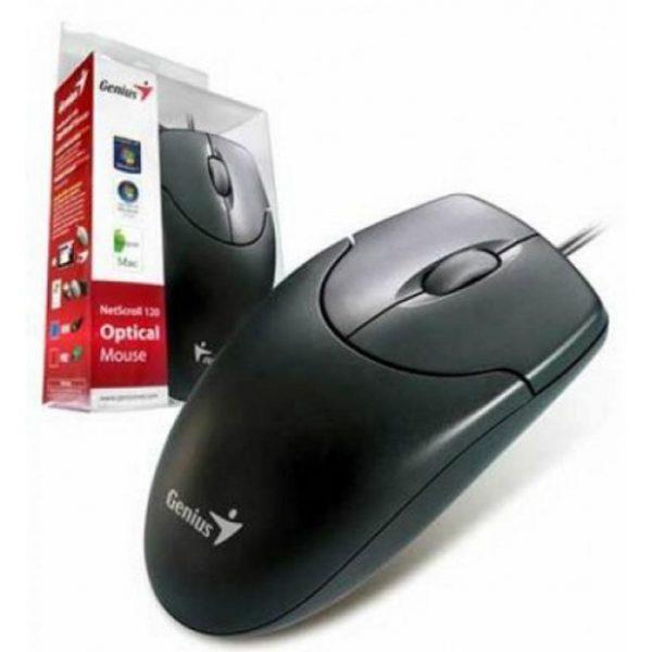 Мишка Genius NS-120 Black USB (31010235100) - купить в интернет-магазине Анклав