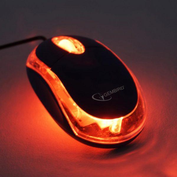 Мышь Gembird MUS-U-01-BKT Black USB - купить в интернет-магазине Анклав