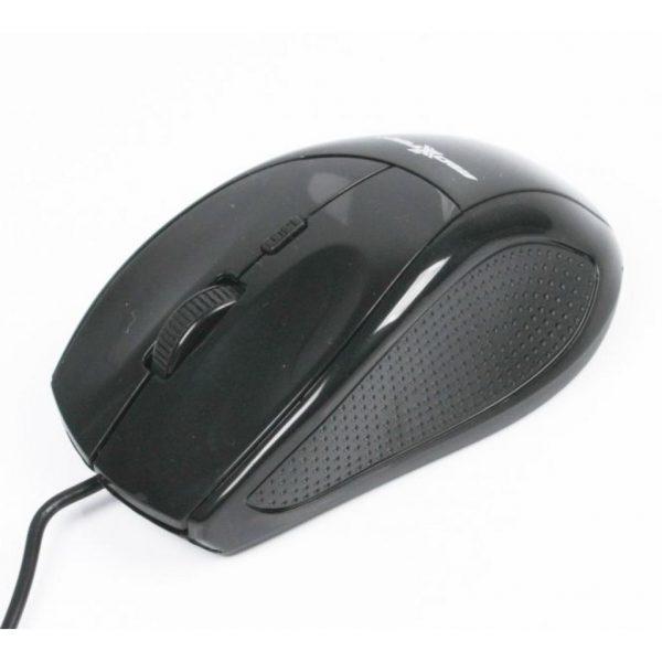 Мышь Maxxter Mc-201 черная USB - купить в интернет-магазине Анклав