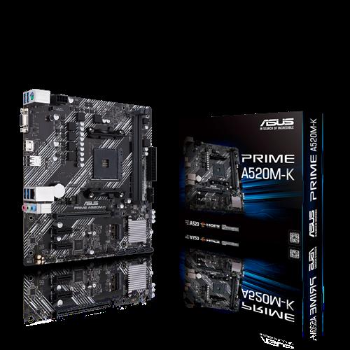 Asus PRIME A520M-K Socket AM4 - купить в интернет-магазине Анклав